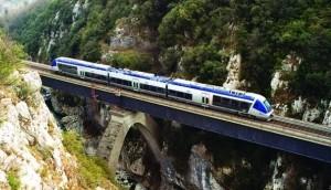 Bahnstrecke von Ventimiglia nach Cuneo mit dem Train de Merveilles