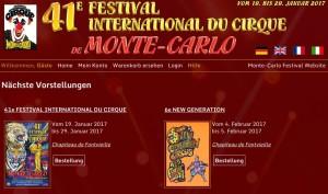 41. Internationales Zirkusfestival von Monte Carlo
