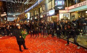 Albano trifft zum 67 Musikfestival von San Remo ein
