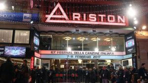 Musikfestival San Remo 2017 im Ariston