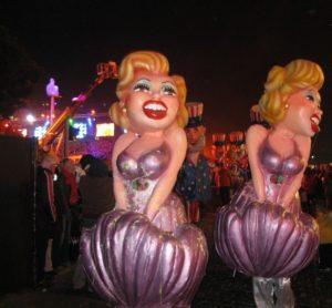 der Karneval in Nizza