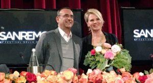 die Moderatoren Maria De Filippi und Carlo Conti