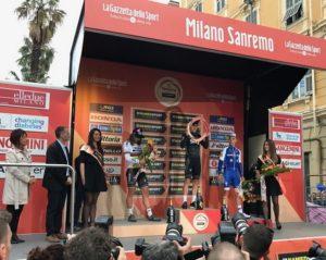 Siegerehrung in San Remo