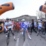 Start in Mailand