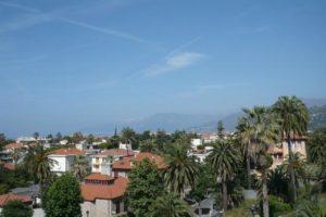 Blick auf Via Romana