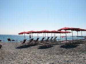 am Strand von Boridhera