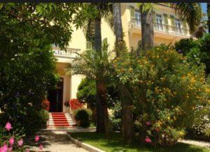 das Hotel Villa Elisa Bordighera
