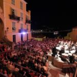 Musik in der Altstadt von Menton