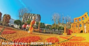 Zitronenfest 2018 in Menton