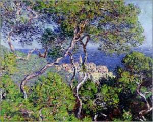 Bordighera. Gemälde von Claude Monet