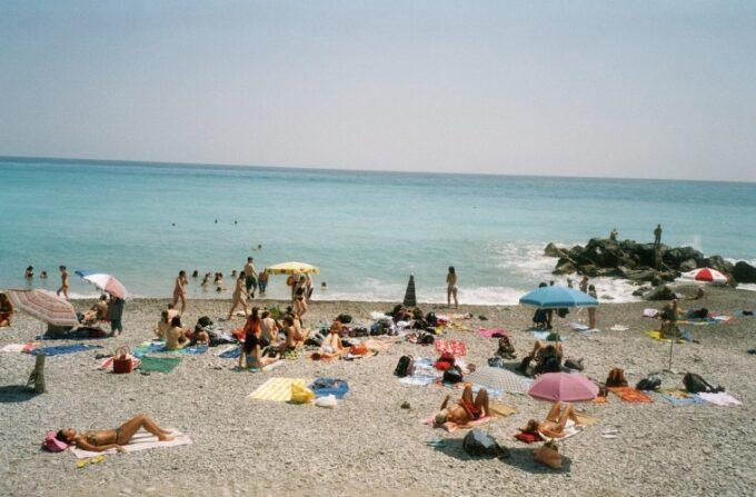 Bordighera am Strand. Urlaub im Ferienhaus an der italienischen Riviera in Ligurien