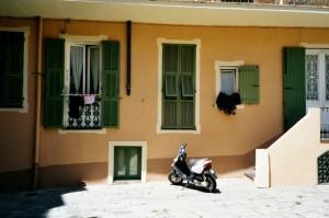 Bordighera, Centro storico. Urlaub an der italienischen Riviera in Ligurien
