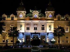 Casino von Monte Carlo an der Côte d'Azur