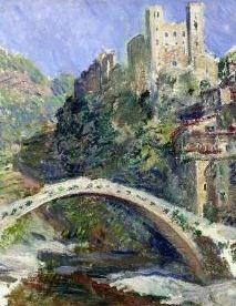 Dolceacqua antike Bruecke von Claude Monet