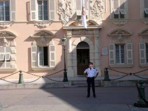 Fürstentum Monte Carlo.Schloss. Urlaub an der italienischen Riviera im Ferienhaus in Ligurien