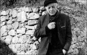 San Biagio della Cima. Hinterland der italienischen Riviera. Francesco Biamonti. (1928-2001)