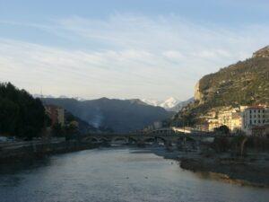 Ventimiglia Fluss Roia