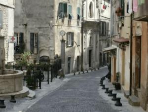 Ventimiglia in der Altstadt.Urlaub an der italienischen Riviera im Ferienhaus Casa Rochin in Ligurien