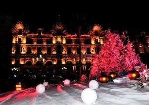 Fürstentum Monaco Weihnachtsstimmung