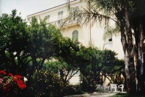 Bordighera, Ligurien an der italienischen Riviera: unser Hotel Villa Elisa