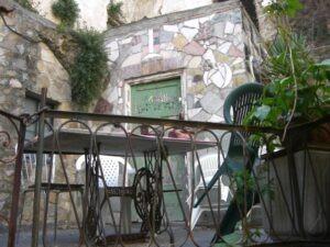 Bussana Vecchia-Sanremo.Urlaub in Ligurien an der italienischen Riviera
