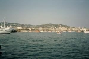 Cannes, an der französischen Riviera, nicht weit vom Ferienhaus Casa Rochin in Dolceacqua, italienische Riviera.