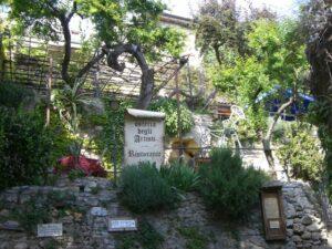 Bussana vecchia-San remo. Urlaub in Ligurien an der italienischen Riviera