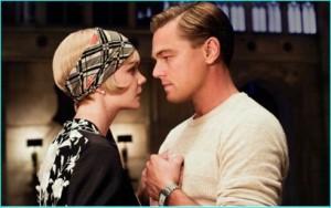 """Leonardo di Caprio und die bezaubernde Carey Mulligan in """"The great Gatsby"""", Neuverfilmung von Baz Luhrmann 2013"""