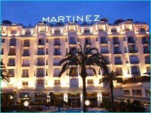 Cannes, Hotel Martinez, hier wohnten schon alle berühmten Stars