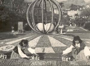 Das Zitronenfest von Menton an der Riviera