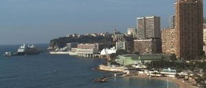 Monte Carlo webcam vom Hotel Beach Plaza