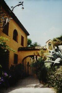 Menton. Jardin Exotique Val Rahmeh. Urlaub an der italienischen Riviera im Ferienhaus in Ligurien