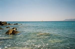 Bordighera. Unsere kleine Bucht. Urlaub an der italienischen Riviera in Ligurien