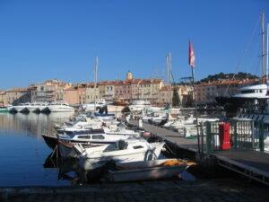 Ein Ausflug nach Saint Tropez, Urlaub an der italienischen Riviera in Ligurien