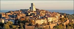 Saint-Paul de Vence. Nahe der italienischen Riviera