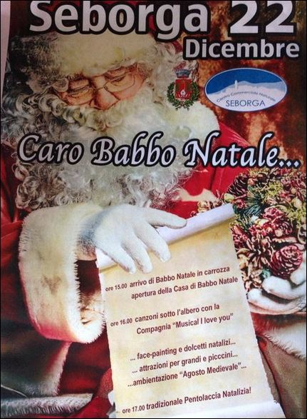 Weihnachten in Seborga im Hinterland von Bordighera an der italienischen Riviera