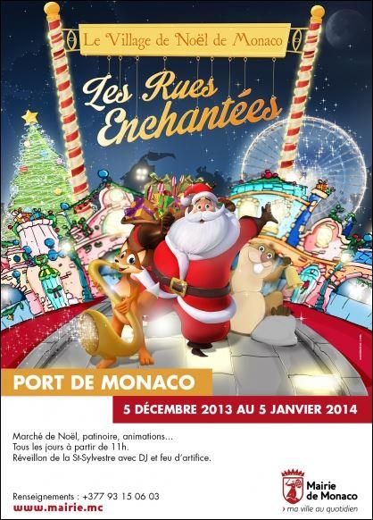 Weihnachten in Monte Carlo. Urlaub an der Côte d'Azur gleich neben der italienischen Riviera.