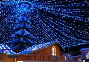 Monte Carlo.Weihnachtsdorf