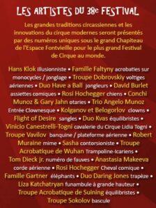 Monte Carlo. Die Artisten des 38. Zirkusfestivals 2014