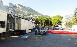Monte Carlo Zirkusfestival 2014. Der Aufbau beginnt...