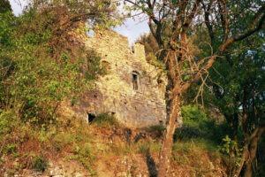 oder eine Ruine bei Dolceacqua?