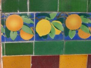 """Menton. Zitronenfest. Die Zitronen von """"Fontana Rosa"""""""
