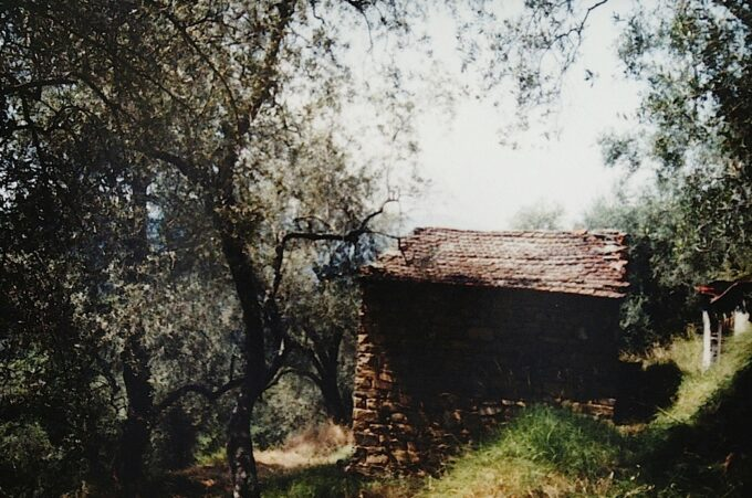 ein altes Rustico in Ligurien