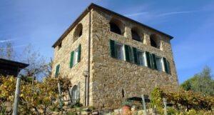 Dolceacqua.Agroturismo Terre Bianche. Urlaub in Ligurien an der Blumenriviera