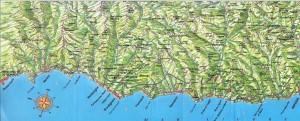 Ligurien. Riviera di Ponente. Urlaub im Ferienhaus an der italienischen Riviera