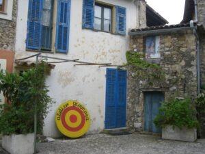 Roquebrune. Atelier. Urlaub an der italienischen Riviera in Ligurien.