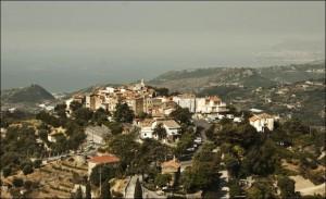 Seborga.Kleines Fürstentum im Hinterland der Riviera di Ponente