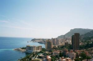 Monaco, nahe der Riviera di Ponente in Ligurien