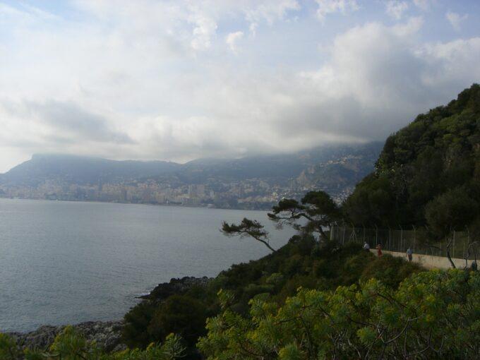 Le Corbusier mit Blick auf Monte Carlo