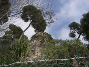 Villa oberhalb vom Corbusierweg. Roquebrune Cap Martin bei Menton